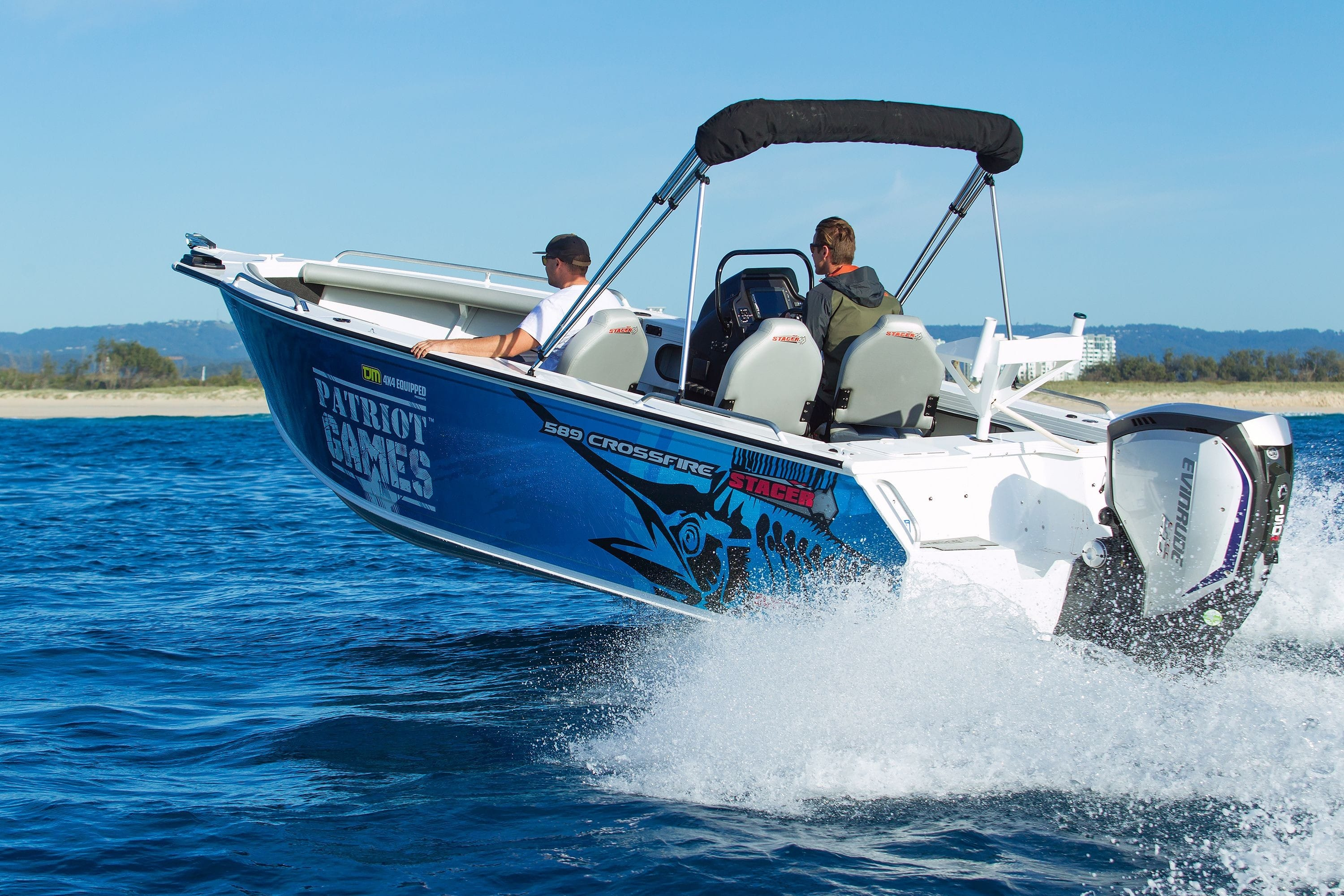 Evinrude outboards  New ETEC, new G2 two-stroke, high output