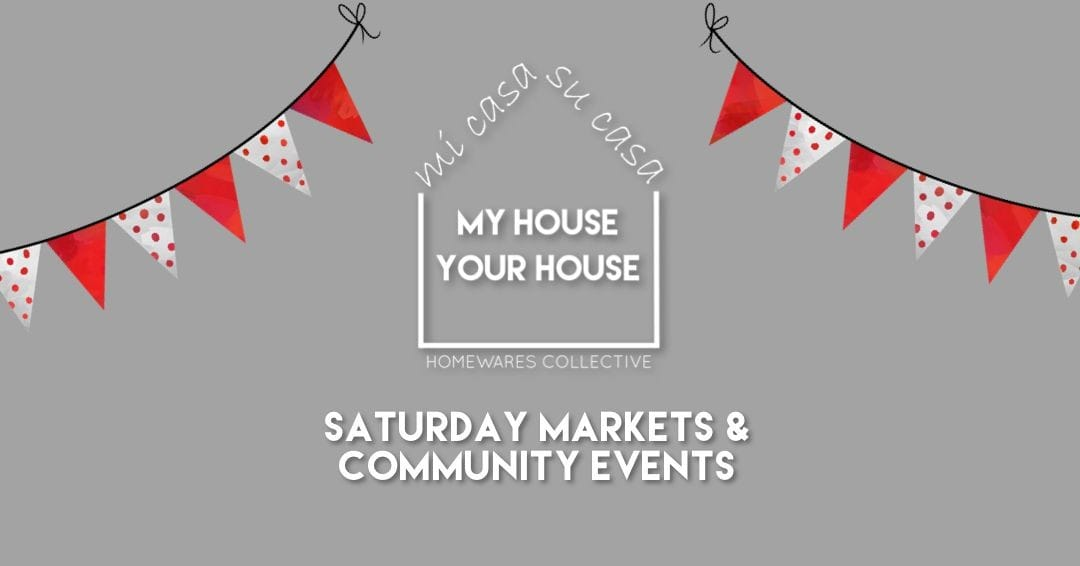This Little Piggy Went to Market -  My House Your House Community Market