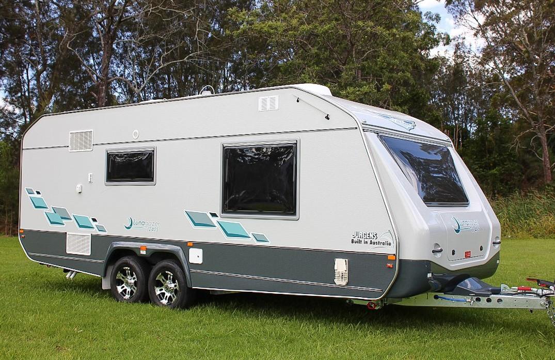 Jurgens Lunagazer Caravan - Lightweight Touring Jurgens Caravan