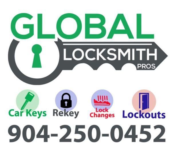 Branded Auto Keys Jacksonville, FL   Global Locksmith Pros
