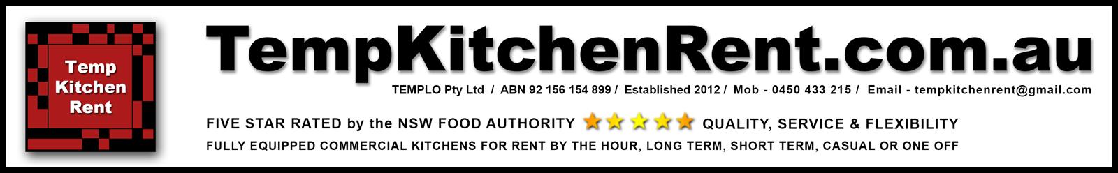 Temp Kitchen Rent By The Hour Tempkitchenrent