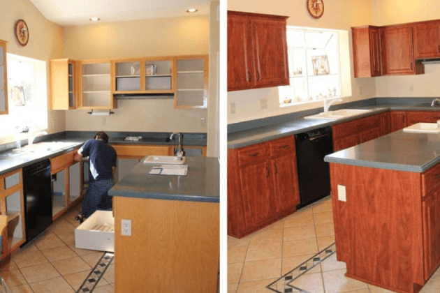 Kitchen Cabinet Remodeling Westwood Nj Cabinetry Contractor In Westwood Nj Blanches Refinishing Services