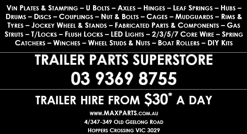 Max Parts Trailer Parts Superstore Max Parts